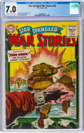 Golden Age (1938-1955):War, Star Spangled War Stories #35 (DC, 1955) CGC FN/VF 7.0 Cream to off-white pages....