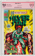 Modern Age (1980-Present):Superhero, Silver Star #1 Verified Signature - Jack Kirby (Pacific Comics, 1983) CBCS NM+ 9.6 White pages....