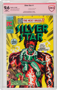 Silver Star #1 Verified Signature Series - Jack Kirby (Pacific Comics, 1983) CBCS NM+ 9.6 White pages