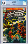 Modern Age (1980-Present):Superhero, Daredevil #168 (Marvel, 1981) CGC VF/NM 9.0 White pages....