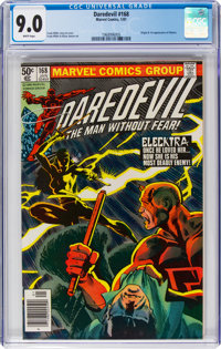 Daredevil #168 (Marvel, 1981) CGC VF/NM 9.0 White pages