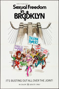 "Movie Posters:Adult, Sexual Freedom in Brooklyn (Variety Films, 1971). Flat Folded, Very Fine-. One Sheets (25) Identical (27"" X 41""). Adult.. ... (Total: 25 Items)"