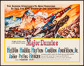 "Movie Posters:Western, Major Dundee (Columbia, 1965). Rolled, Very Fine-. Half Sheet (22"" X 28""). Western.. ..."