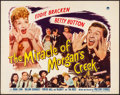 """Movie Posters:Comedy, The Miracle of Morgan's Creek (Paramount, 1944). Folded, Very Fine-. Half Sheet (22"""" X 28"""") Style B. Comedy.. ..."""
