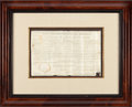Miscellaneous Collectibles:General, 1830 Andrew Jackson Signed Document as President....