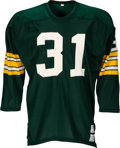 Football Collectibles:Uniforms, Circa 1970 Perry Williams Game Worn Green Bay Packers Jersey. ...