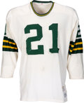 Football Collectibles:Uniforms, 1970 Bob Jeter Game Worn Green Bay Packers Jersey. ...