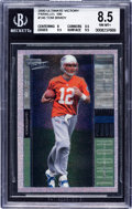 Football Cards:Singles (1970-Now), 2000 Upper Deck Ultimate Victory Tom Brady Parallel 100 #146 BGS NM-MT+ 8.5 - Numbered 36/100....