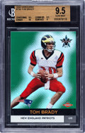Football Cards:Singles (1970-Now), 2000 Pacific Vanguard Tom Brady #139 BGS Gem Mint 9.5 - Numbered 420/762....