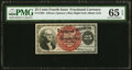 Fractional Currency:Fourth Issue, Fr. 1303 25¢ Fourth Issue PMG Gem Uncirculated 65 EPQ.. ...