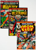 Bronze Age (1970-1979):Superhero, Marvel Premiere Group of 55 (Marvel, 1972-80) Condition: Average VF.... (Total: 55 Comic Books)
