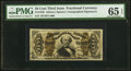 Fractional Currency:Third Issue, Fr. 1329 50¢ Third Issue Spinner PMG Gem Uncirculated 65 EPQ.. ...
