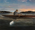 Paintings:Contemporary, Eric Zener (American, b. 1966). Untitled (The Rower). Oil on canvas. 64 x 73 inches (162.6 x 185.4 cm). Signed lower rig...