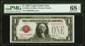 Small Size:Legal Tender Notes, Fr. 1500 $1 1928 Legal Tender Note. PMG Superb Gem Unc 68 EPQ.. ...