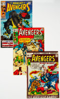 Silver Age (1956-1969):Superhero, The Avengers #60-93 Complete Range Group of 34 (Marvel, 1969-71) Condition: Average VG+.... (Total: 34 )