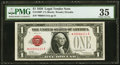 Small Size:Legal Tender Notes, Fr. 1500* $1 1928 Legal Tender Note. PMG Choice Very Fine 35.. ...