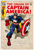 Silver Age (1956-1969):Superhero, Captain America #109 (Marvel, 1969) Condition: VF-....