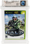 Video Games:Xbox, Halo: Combat Evolved (Xbox, Microsoft, 2001) Wata 9.6 A+ (Seal Rating) Variant: Black Label....