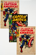 Silver Age (1956-1969):Superhero, Captain America Group of 27 (Marvel, 1969-71) Condition: Average VG+.... (Total: 27 )
