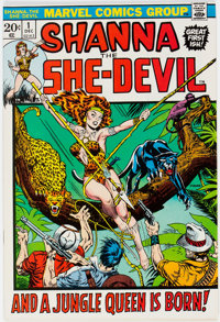 Shanna the She-Devil #1 (Marvel, 1972) Condition: NM-