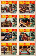 "Movie Posters:Documentary, Jungle of Chang (RKO, 1951). Very Fine-. Lobby Card Set of 8 (11"" X 14""). Documentary.. ... (Total: 8 Items)"