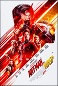 """Movie Posters:Action, Ant-Man and the Wasp (Walt Disney Studios, 2018). Rolled, Very Fine/Near Mint. One Sheet (27"""" X 40"""") DS Advance. Action.. ..."""