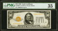 Small Size:Gold Certificates, Fr. 2404* $50 1928 Gold Certificate. PMG Choice Very Fine 35.. ...