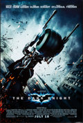 """Movie Posters:Action, The Dark Knight (Warner Brothers, 2008). Rolled, Near Mint. One Sheet (27"""" X 40"""") DS Advance Batpod Style. Action.. ..."""