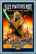 "Movie Posters:Science Fiction, Star Wars: Episode II - Attack of the Clones (20th Century Fox, 2002). Rolled, Very Fine+. IMAX One Sheet (27"" X 40"") DS, St..."