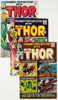 Silver Age (1956-1969):Superhero, Journey Into Mystery Group of 7 (Marvel, 1963-65) Condition:Average VG/FN.... (Total: 7 Comic Books)
