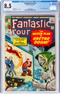 Silver Age (1956-1969):Superhero, Fantastic Four #23 (Marvel, 1964) CGC VF+ 8.5 White pages....