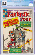 Silver Age (1956-1969):Superhero, Fantastic Four #26 (Marvel, 1964) CGC VF+ 8.5 Off-white to whitepages....