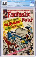 Silver Age (1956-1969):Superhero, Fantastic Four #28 (Marvel, 1964) CGC VF+ 8.5 Off-white to white pages....