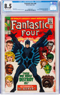 Silver Age (1956-1969):Superhero, Fantastic Four #46 (Marvel, 1966) CGC VF+ 8.5 Off-white to whitepages....
