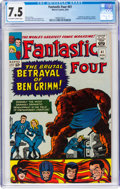 Silver Age (1956-1969):Superhero, Fantastic Four #41 (Marvel, 1965) CGC VF- 7.5 Off-white to white pages....