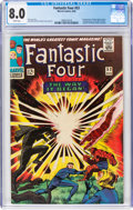 Silver Age (1956-1969):Superhero, Fantastic Four #53 (Marvel, 1966) CGC VF 8.0 White pages....