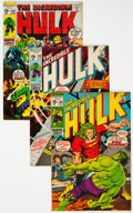 Bronze Age (1970-1979):Superhero, The Incredible Hulk #123-145 Group (Marvel, 1970-71) Condition: Average VG+.... (Total: 23 Comic Books)