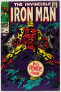 Silver Age (1956-1969):Superhero, Iron Man #1 (Marvel, 1968) Condition: VG+....