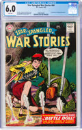 Silver Age (1956-1969):War, Star Spangled War Stories #84 (DC, 1959) CGC FN 6.0 White pages....