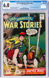 Star Spangled War Stories #84 (DC, 1959) CGC FN 6.0 White pages