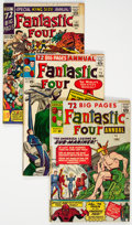Silver Age (1956-1969):Superhero, Fantastic Four Annual #1-6 Group (Marvel, 1963-68) Condition:Average VG.... (Total: 6 Comic Books)