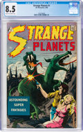 Silver Age (1956-1969):Science Fiction, Strange Planets #1 (I.W., 1958) CGC VF+ 8.5 Cream to off-white pages....