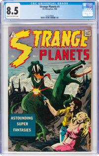 Strange Planets #1 (I.W., 1958) CGC VF+ 8.5 Cream to off-white pages