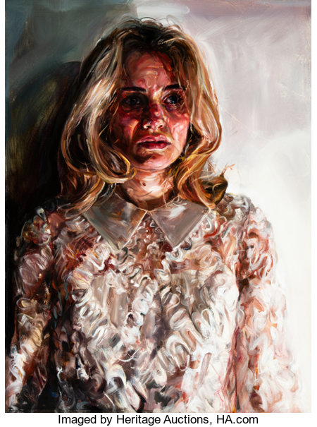 Natalie Frank (American, 21st Century)SuzanneOil on canvas40 x 30 inches (101.6 x 76.2 cm)...