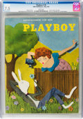 Magazines:Vintage, Playboy #6 (HMH Publishing, 1954) CGC VF- 7.5 White pages....