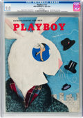 Magazines:Miscellaneous, Playboy #5 (HMH Publishing, 1954) CGC VF/NM 9.0 White pages....