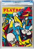 Magazines:Vintage, Playboy #10 (HMH Publishing, 1954) CGC VF 8.0 Off-white to white pages....
