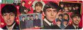 Music Memorabilia:Posters, The Beatles Giant Size Pin-Up Panel (1964). . ...