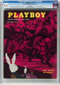 Magazines:Vintage, Playboy #12 (HMH Publishing, 1954) CGC VF+ 8.5 White pages....