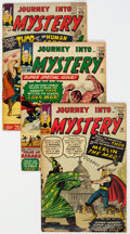 Silver Age (1956-1969):Superhero, Journey Into Mystery #96-98 and 100 Group (Marvel, 1963-64)Condition: Average VG+.... (Total: 4 Comic Books)